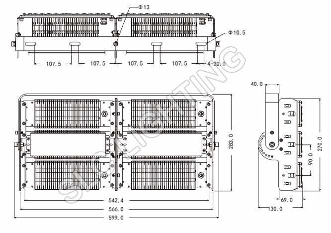 Den-pha-led-pl10-300W-philips-kich-thuoc