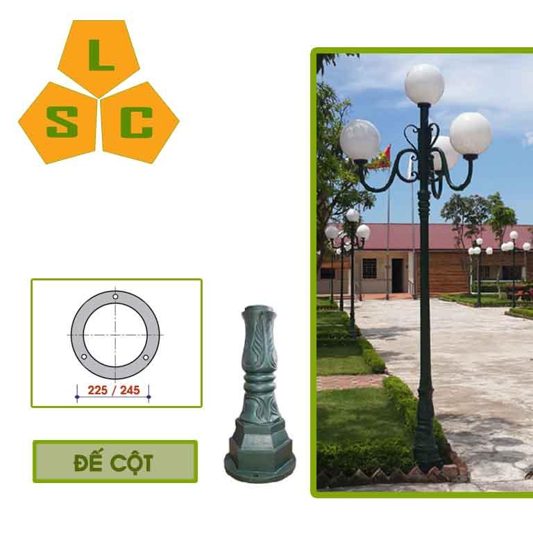Cột đèn trang trí sân vườn DC02