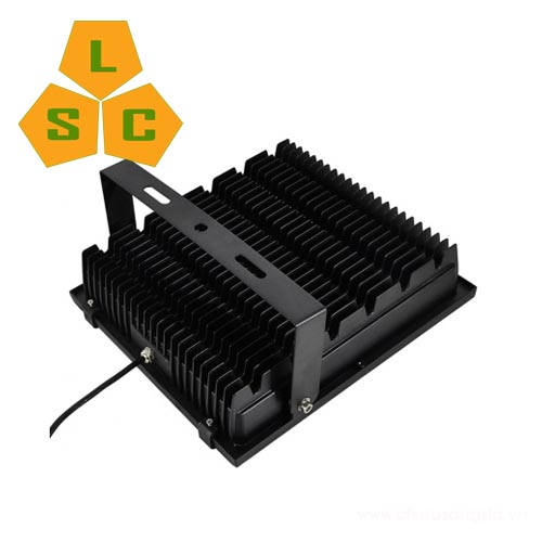 Đèn pha led PL08 100W mặt sau