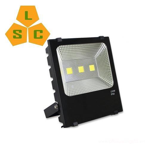 Dèn pha led PL08 150W mặt sau đèn