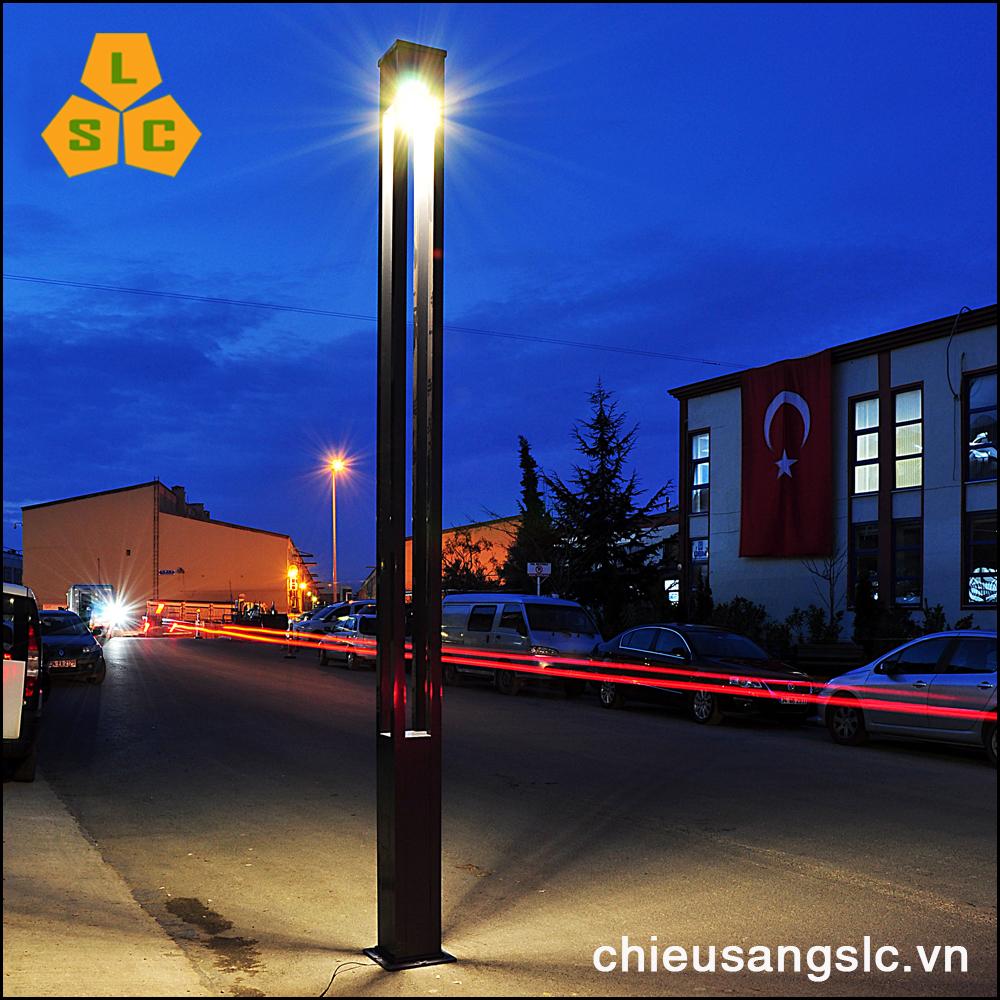 Cột (Trụ) đèn led trang trí sân vườn SLC-LSV04