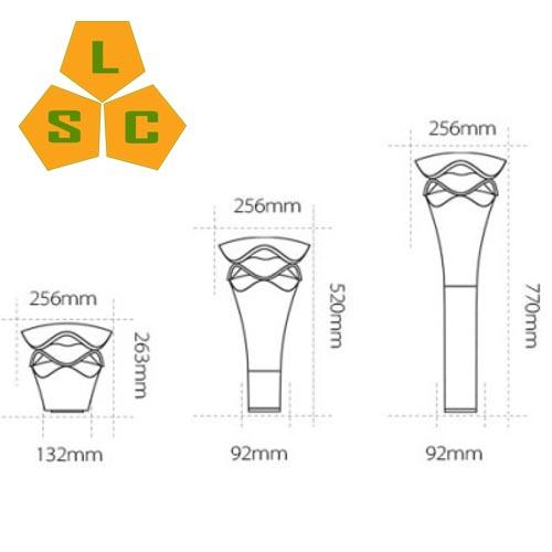 Đèn led sân vườn SLC-N26-1