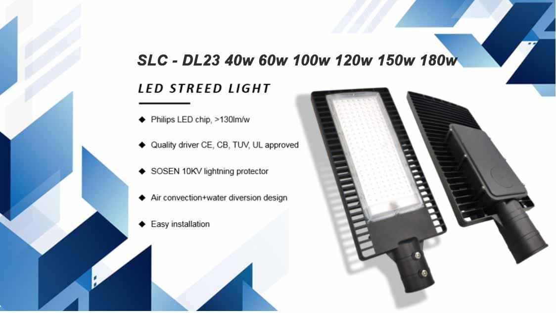 Đèn đường led slc-DL23