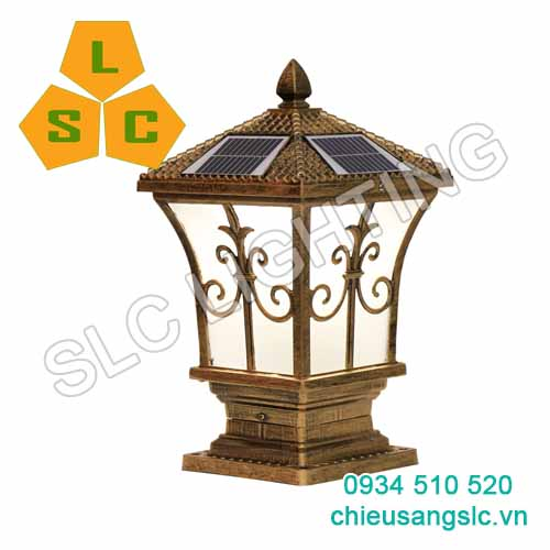 Đèn Led Gắn Trụ Cổng Sân Vườn NLMT SLC-MTSV06