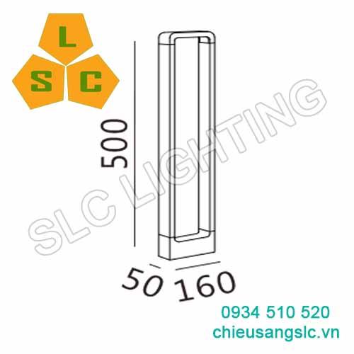 Đèn Led Sân Vườn SLC-N33