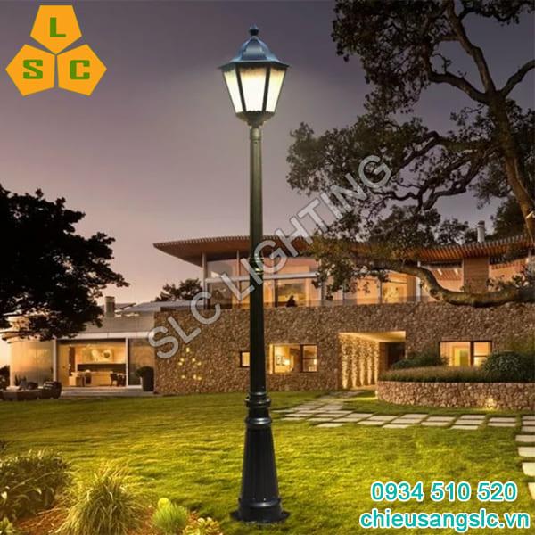 Cột đèn trang trí sân vườn 1 bóng SLC8A29